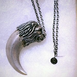 House of Harlow 1960 Lion Tusk Pendant Necklace